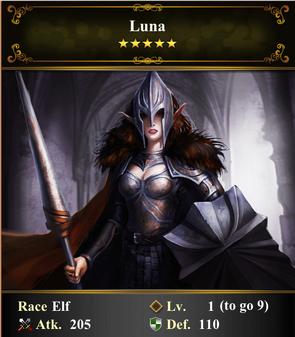 Card - Luna