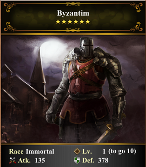 Card - Byzantim