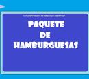 Paquete de Hamburguesas