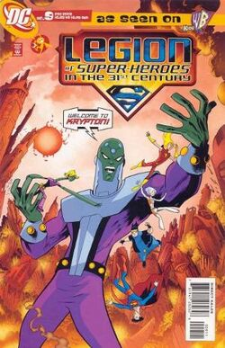 300px-Legion of Super-Heroes in the 31st Century Vol 1 9