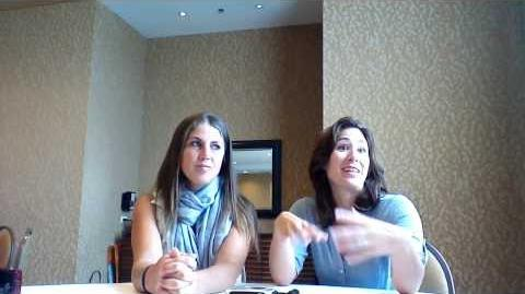 Emily Andras, Vanessa Piazza Talk Season 4 (SDCC 2013)