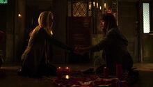 Kenzi and Lauren conjure spirits (502)-1