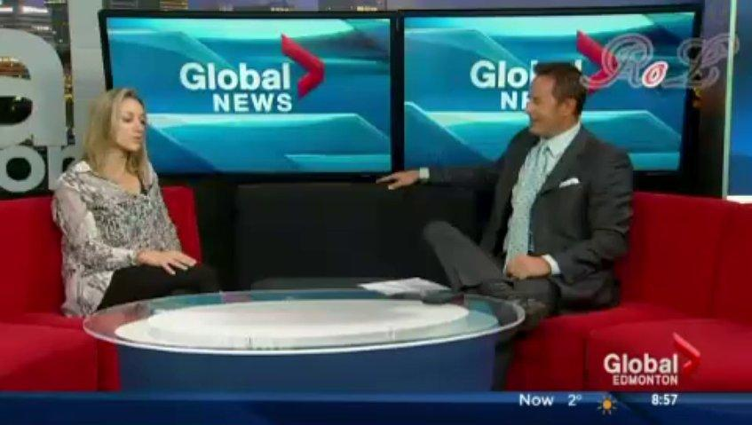 Zoie Palmer Interview Edmonton Morning News