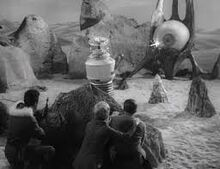 Invaders from the Fifth Dimension Ship