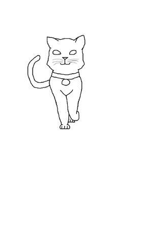 File:Kittypet lineart male short.jpg