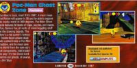 Pac-Man Ghost Zone (1996 Cancelled PSX game/Pac-Man World precursor)