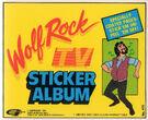 Wolf rock sticker album