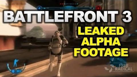 Star Wars Battlefront III - In-Game Alpha Footage (Gameplay)