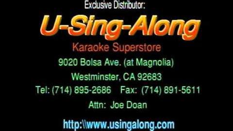 U-Sing-Along Karaoke- intro to Volume 2 *RE-RELEASE*