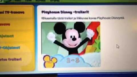 Playhouse Disney Finnish lost Ad Trailer (with Little Einsteins and more)