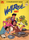 Wolf rock tv color book