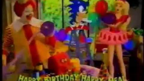 McDonald's Ad- Happy Birthday Happy Meal (1994)