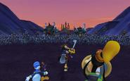 Battle of the 1000 Heartless KHII Beta