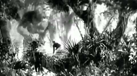 King Kong (1933) The Lost Spider Pit Sequence - Peter Jackson Recreation