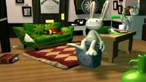 Sam and Max Freelance Police Unseen clips no1