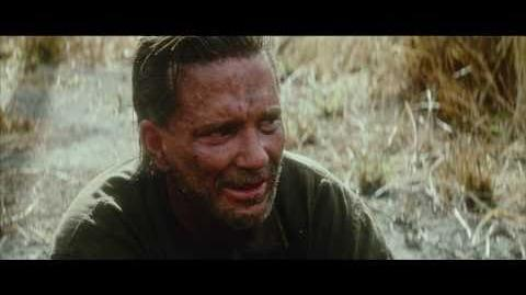 DELETED SCENE FROM THE THIN RED LINE (WITH MICKEY ROURKE)