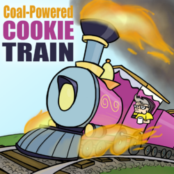 Coal-Powered Cookie Train