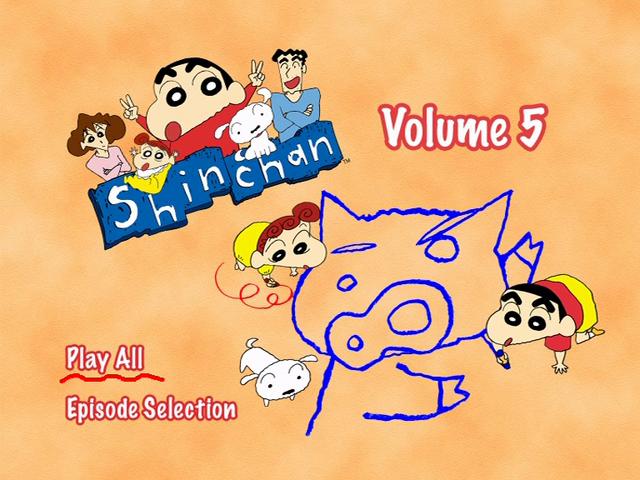 File:Shin Chan Volume 5 Main Menu.png