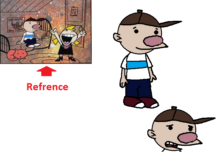 image billy billy and mandy early design remakepng