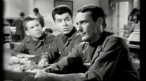 NO TIME FOR SERGEANTS - 1964 - Starring Sammy Jackson, Harry Hickox, Kevin O'Neal, Paul Smith