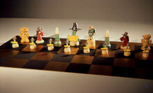 Gumby Chess Set
