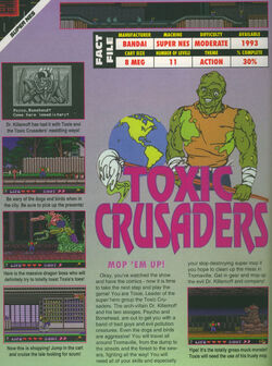 Toxic Crusaders EGM October 1992
