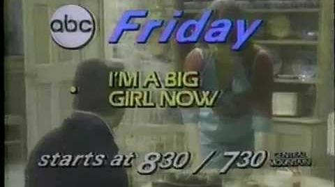 I'm A Big Girl Now 1980 ABC Series Premiere Promo