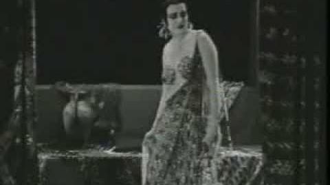 """Theda Bara """"Cleopatra"""" (1917) surviving footage"""
