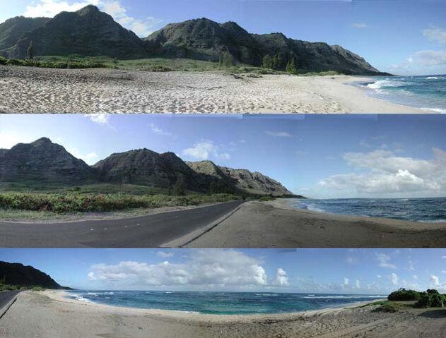 Ficheiro:Mokuleia beach.jpg