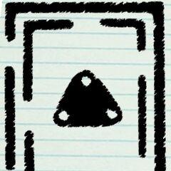 Glyphs desenhados à mão nos diários do <a href=
