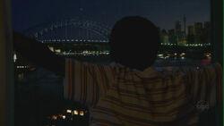 Walt overlooking - Sydney Harbour Bridge.JPG