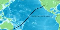 Ruta del vuelo 815 de Oceanic