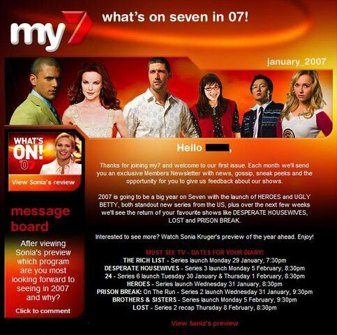 File:Proof of Lost Season 3 return for Channel 7.JPG