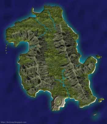 Lostpedia Map Of The Island
