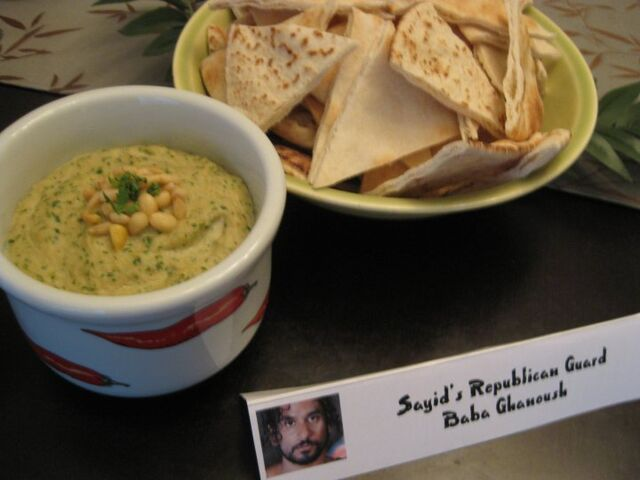 File:Sayid's Republican Guard Baba Ghanoush.jpg