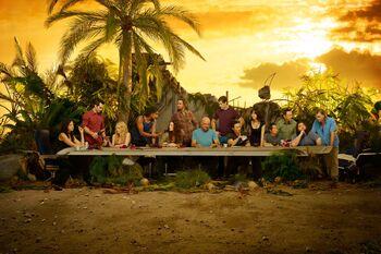 Lost season6 last supper 3