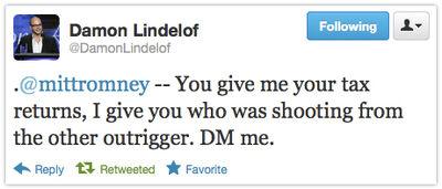 Lindelof tweet