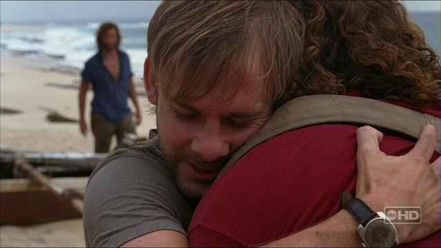 File:3x21 charlie hug hurley.jpg