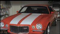 Hurley's Camaro fully restored.JPG
