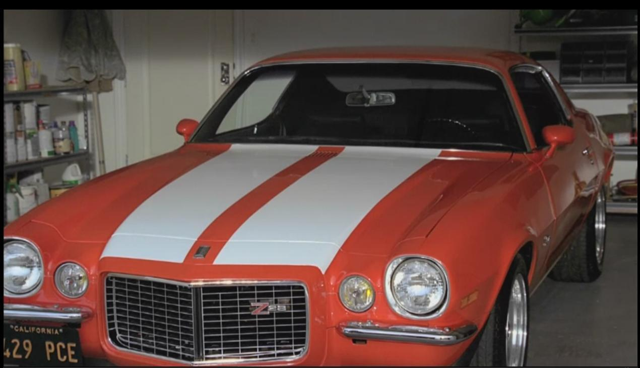 Ficheiro:Hurley's Camaro fully restored.JPG