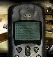 Talbot's phone