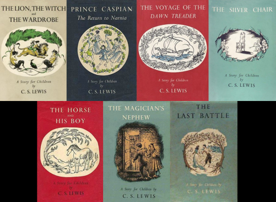 File:Narnia books.jpg