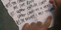 Lista do Charlie
