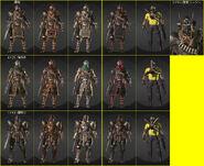 MERC Costumes