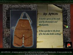 """Limbo of the Lost """"Apron"""""""