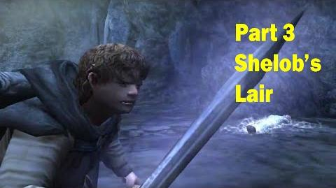 LotR Return of the King - Walkthrough Game - Shelob's Lair - Part 3