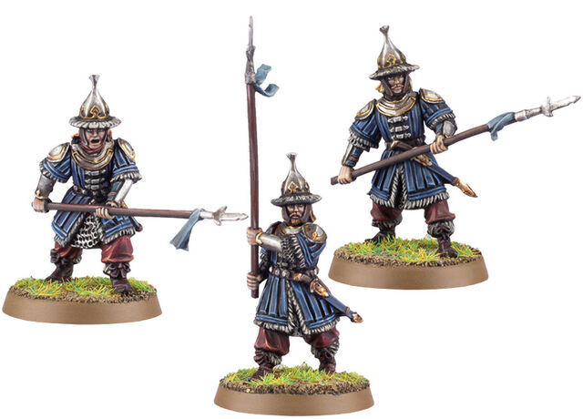 File:Hobbit Miniature Game - Lake-town Guard (Spearmen) 1.jpg