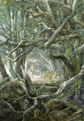 File:Alan Lee - Farewell to Gandalf.jpg