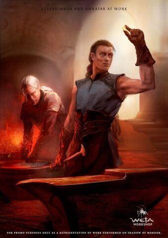 File:Weta Workshop - Annatar and Celebrimbor (Shadow of Mordor).jpg
