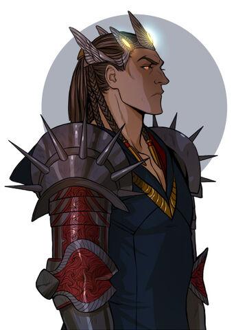 File:Melkor Morgoth by Gerwell.jpg